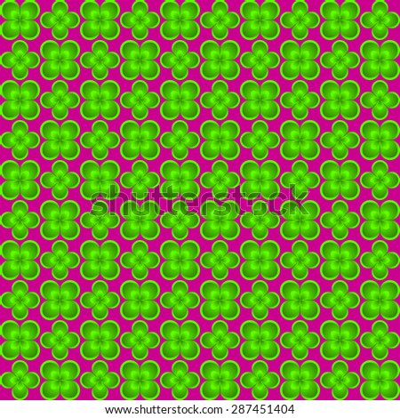 Abstract flower seamless pattern for endless backgrounds, printings and other creative designs.Editable vector with several layers.Eps 10 - stock vector