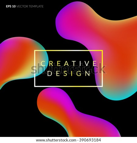 Fluid abstract stock images royalty free images vectors - Fluid wallpaper ...