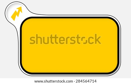 Abstract frame for your text and flash - stock vector
