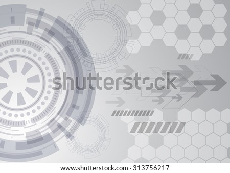 abstract future technology background