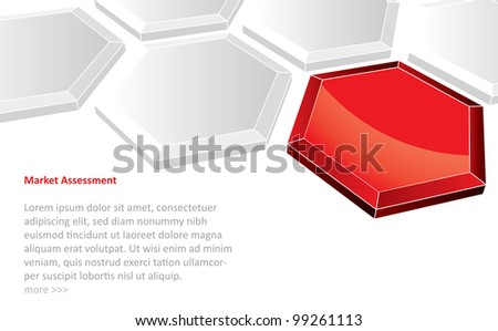 Abstract futuristic background in editable vector format