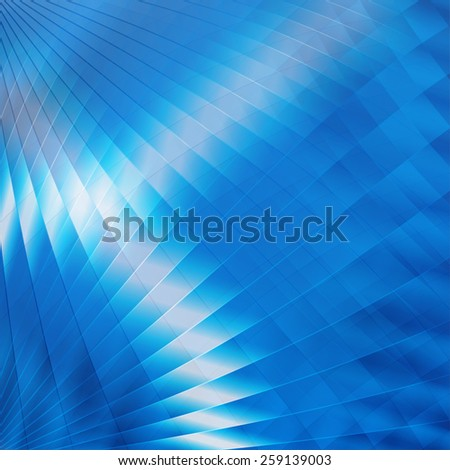 Abstract futuristic blue background