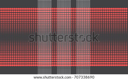 Abstract futuristic halftone background vector illustration.