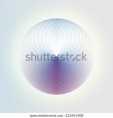 Abstract futuristic particular background design vector - stock vector