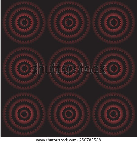 Abstract gear wheels background vector.illustration - stock vector