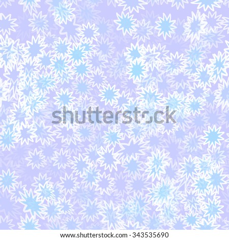 abstract gentle winter seamless texture - stock vector