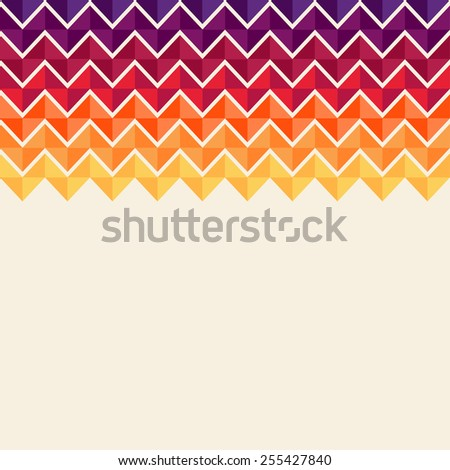 Abstract, geometric background, colorful, spectrum - stock vector