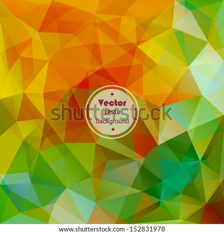 Abstract geometric background design shape pattern, futuristic background, technology business presentation report cover, angled triangle abstract shape art, glass texture. - stock vector