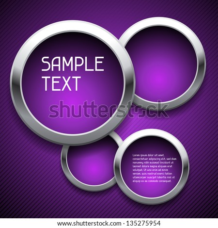 Abstract geometric background, design template. - stock vector