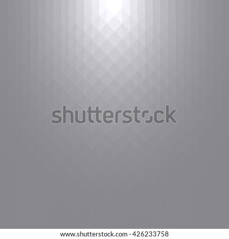 Abstract geometric background design with grey & white tones. - stock vector