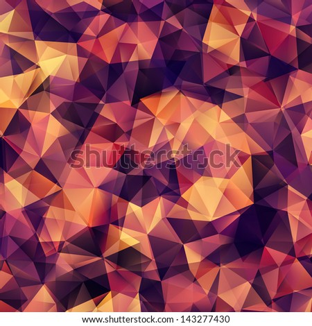 Abstract Geometric Background. EPS 10 vector file included - stock vector