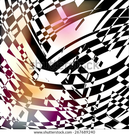 abstract geometric background for use in design - stock vector