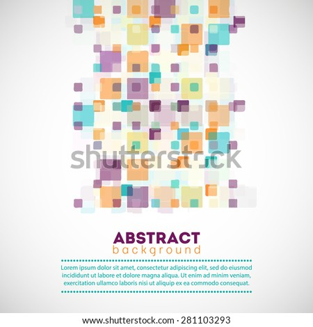 Abstract Geometric Background For Your Design