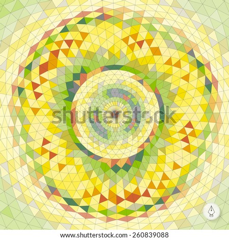 Abstract geometric background. Mosaic. Vector illustration. Can be used for banner, flyer, book cover, poster, web banners.