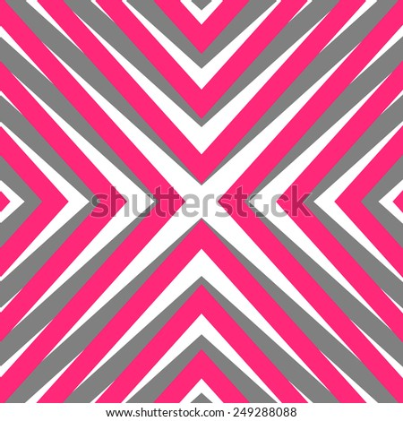 Abstract  geometric background. Retro seamless pattern.  Simple vector backdrop. - stock vector