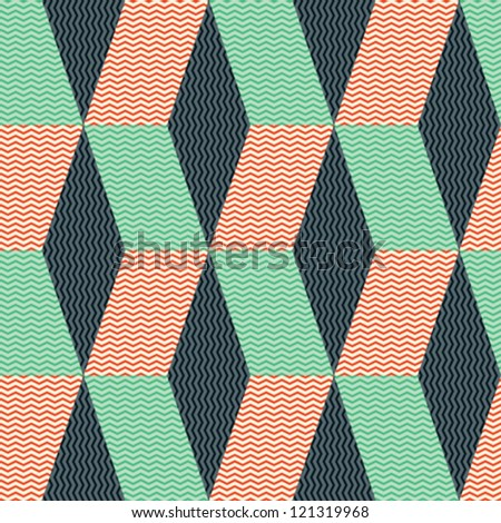 Abstract geometric background. Seamless pattern. Vector.