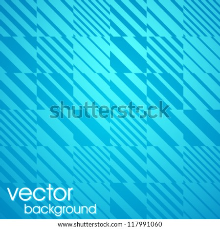 Abstract geometric background. The template for the poster, card, flyer or banner with line. - stock vector