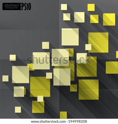 Abstract Geometric Background. . Vector Illustration. Eps 10 - stock vector