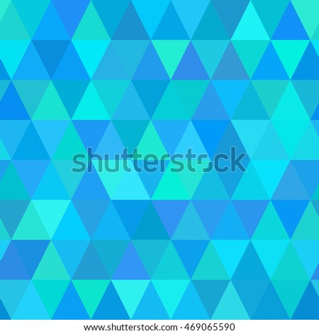 Abstract geometric background. Vector seamless triangle pattern.