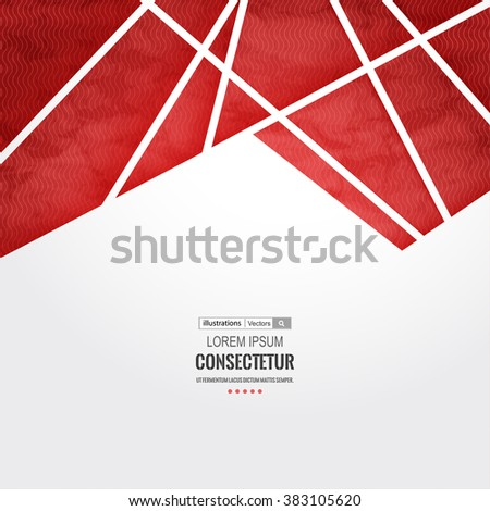 abstract geometric background polygons info graphics stock vector