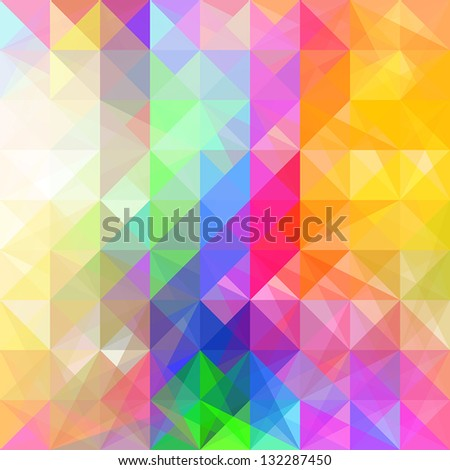 Abstract geometric backgrounds. - stock vector