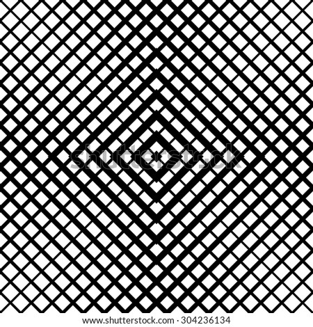 Abstract geometric black and white hipster fashion pillow grid pattern