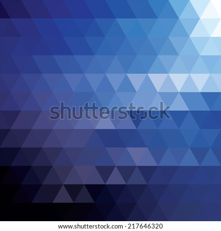 Abstract geometric colorful background, pattern design, vector illustration - stock vector