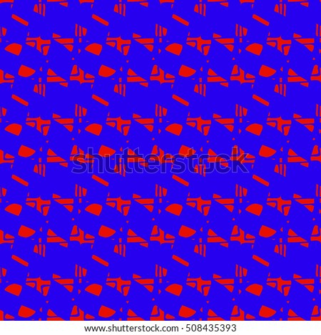 Abstract geometric colorful seamless pattern for background. Decorative backdrop can be used for wallpaper, pattern fills, web page background, surface textures.