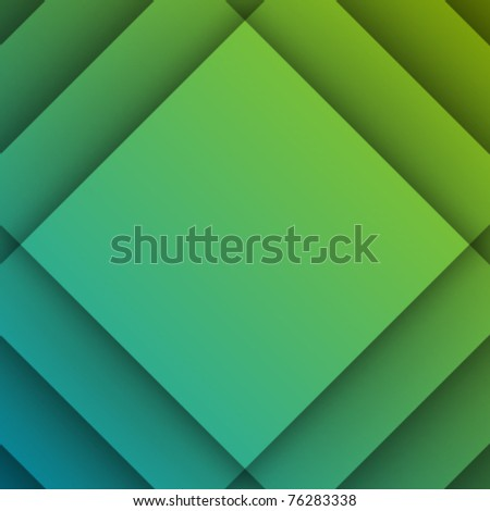 Abstract geometric cut paper with shadow vector background. Eps 10. - stock vector