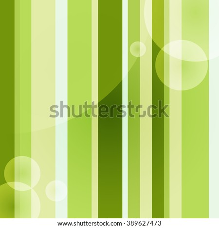 Abstract Geometric Green Rectangle Background - Vector Pattern