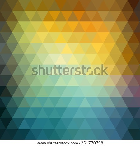 Abstract geometric hipster  background. Low poly triangle design