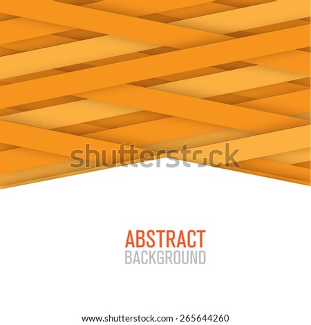 Abstract geometric lines poster, cover, banner - stock vector