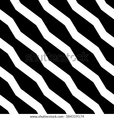 Abstract geometric monochrome, minimal artistic pattern. Seamlessly repeatable. - stock vector