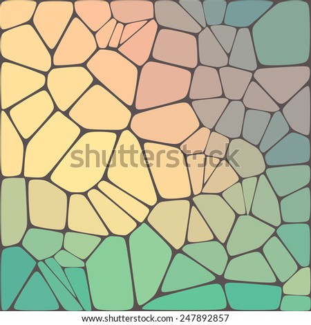 Abstract geometric mosaic colorful background. Vector illustration