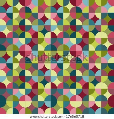 Seamless Geometric Pattern Stock Vector 111390737
