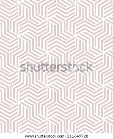 Abstract geometric pattern. A seamless vector background.  - stock vector