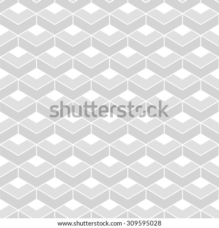 Abstract geometric pattern. A seamless vector background. Light texture - stock vector