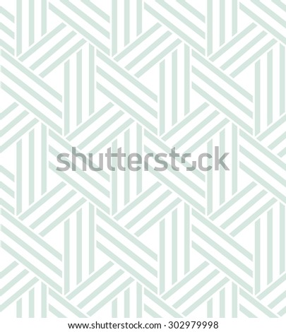 Abstract geometric pattern by lines. A seamless vector background. texture. - stock vector