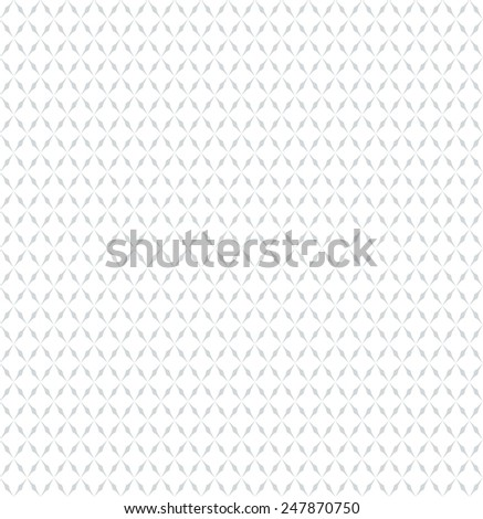 Abstract geometric pattern by lines, rhombuses . Seamless vector background. Gray and white texture. - stock vector