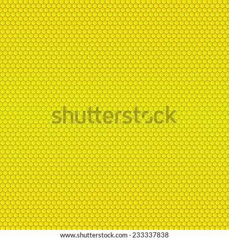 Abstract geometric pattern with honeycombs, beehive - stock vector