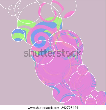 abstract geometric print. vector background