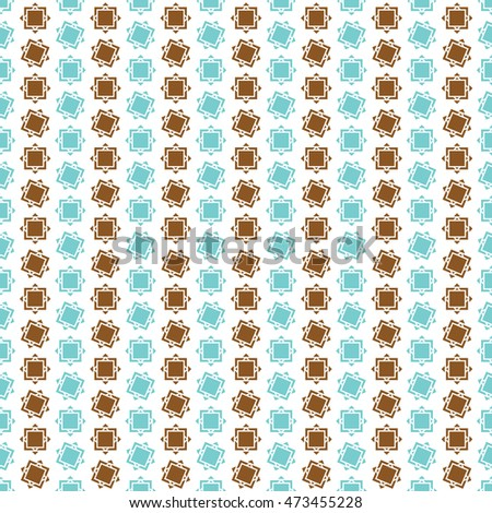 Abstract geometric rectangle pattern, background vector. Pattern can be used for wallpaper, cover fills, web page background, surface textures. Vector linen texture.