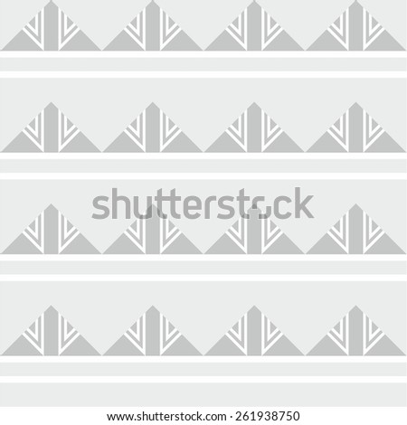 Abstract geometric seamless pattern background - stock vector
