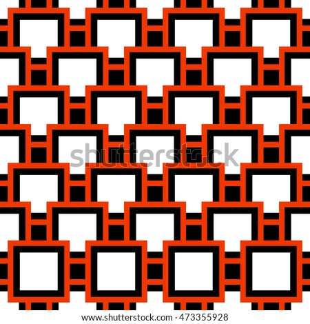 Abstract geometric seamless pattern. Colorful background. Vector illustration. Eps 10