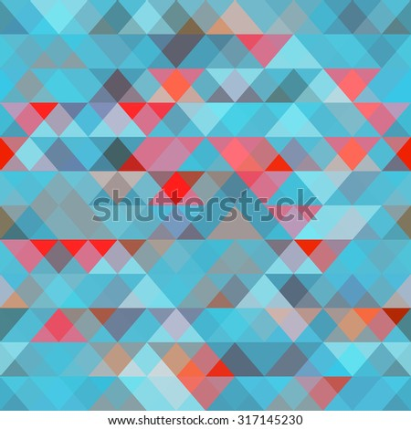Abstract geometric seamless pattern for business, web design, print or presentation. Background of geometric shapes. Geometric mosaic.