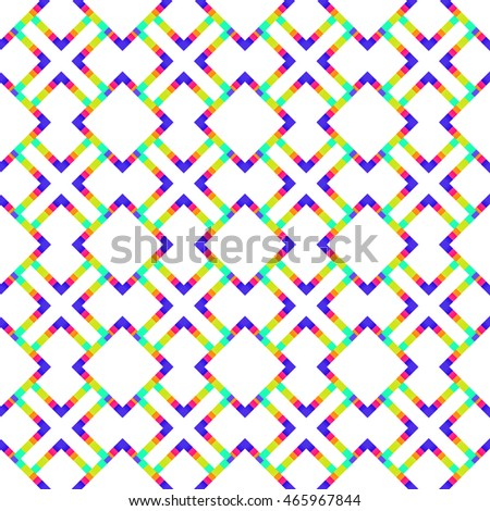 Abstract geometric seamless pattern. Modern stylish texture. Vector Illustration.