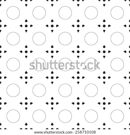 Abstract geometric seamless pattern. Vector. - stock vector