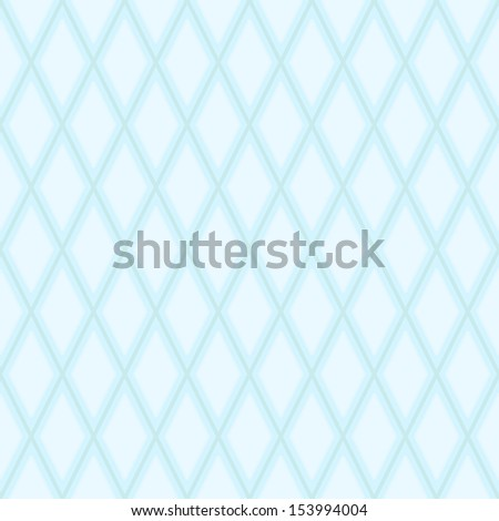 Abstract geometric seamless texture - blue lines forming the diamonds - stock vector
