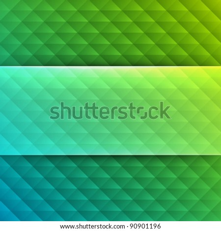 Abstract geometric shadow lines vector background. Eps 10. - stock vector
