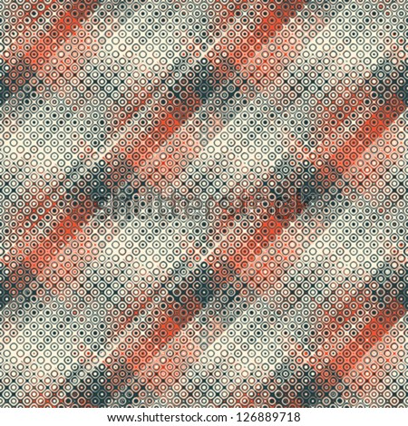 Abstract geometric textured  background. Seamless pattern.  Vector.